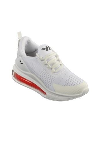 Walkway Walk Air 720 Beyaz-KırmızıUnisex Spor Ayakkabı Beyaz